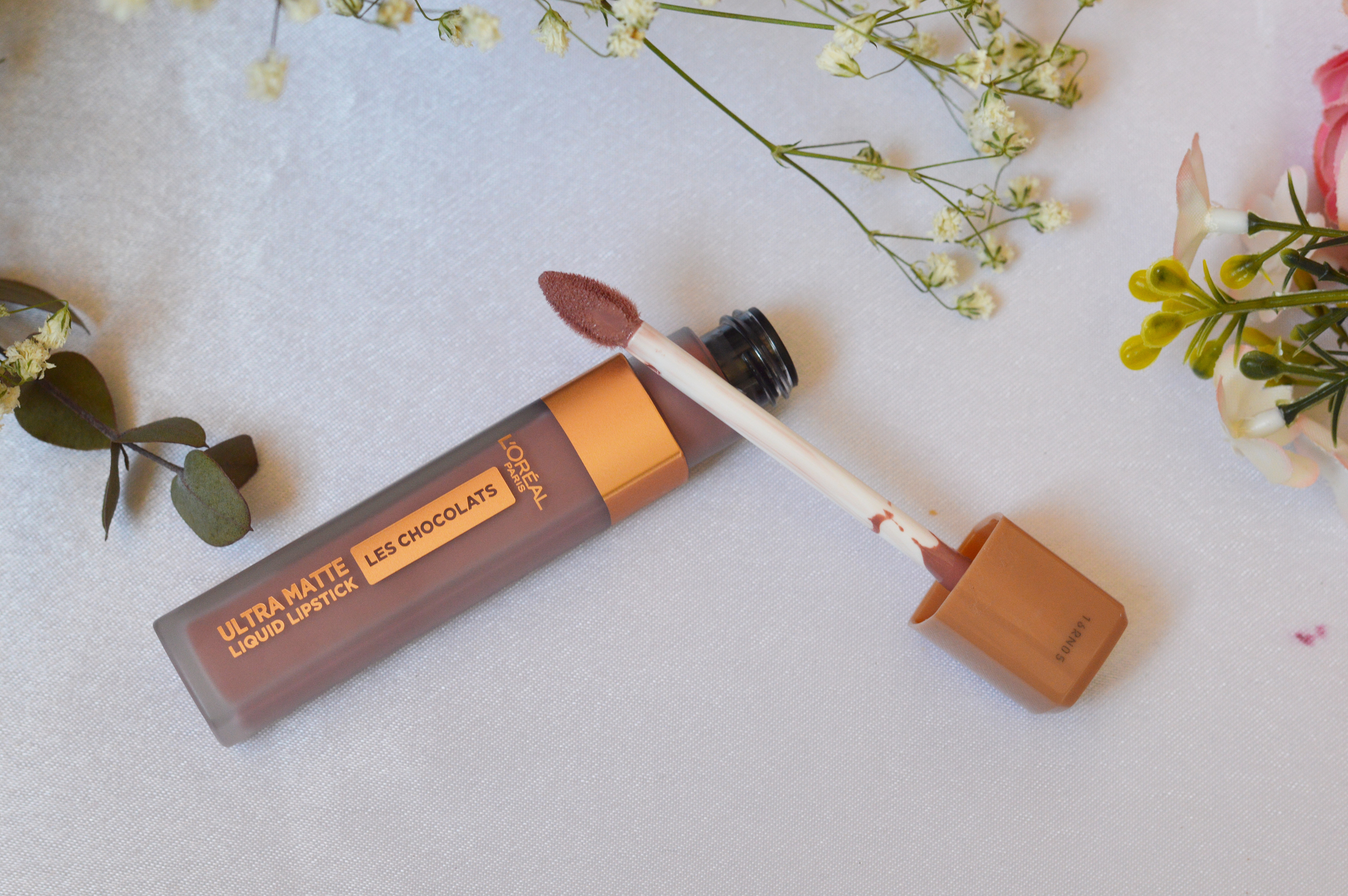 Ruj lichid mat L'Oréal Paris Ultra Matte Les Chocolats